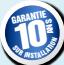 Garantie 10 ans installation